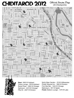 CHIditarod-2012-Map-All-Checkpoints