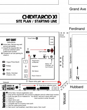 Chiditarod 2016 Yard Map